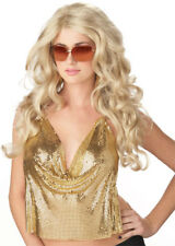 Blonde Sexy Super Model Wig for Adult Halloween Costume