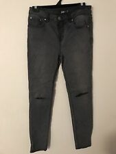 Sportsgirl Jeans 11 Charcoal Grey - Never Worn