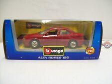 Alfa Romeo 156 (932), dark red, 1997, Bburago 1:24 (Made in Italy), OVP