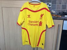 Liverpool Away Shirt Lallana #20! Size MB! 2014! Look In The Shop!