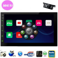 Android 10 Car Stereo With Backup Camera GPS Double Din Touchscreen Bluetooth