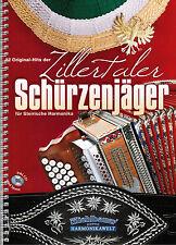 3 Hefte Steirische Harmonika Noten In Griffschrift mit CD