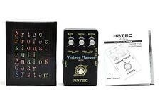 ARTEC SE-FLG VINTAGE FLANGER VINTAGE STYLE TWO BAND ANALOG FLANGER Effect Pedal