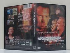 07410 DVD - HIGHLANDER L'ULTIMO IMMORTALE - Christopher Lambert, Sean Connery