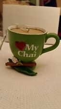 Resin My Chai Teacup Ornament Midwest Cbk New