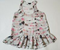 Topshop top size 10. Heart design. Buy it now price £5.99!