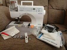 Brother Innovis CS8080 Electronic Sewing Machine Hardly Used.