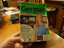 Instant Immersion GERMAN Language Course Levels 1 2 & 3 PC or Mac Up to 5 Users