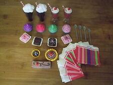 Puppenzubehör Sophia's Sweet Soda Set Pralinen Kuchen 40-50 Stehpuppe ohne Puppe