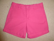 Girls Gap smart pink summer shorts with adjustable waist 12 years BNWOT