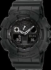 Casio G-Shock GA100-1A1 Analog Digital Black Resin Band Mens Watch New with Tags
