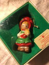 1982 Holly Robbie Hobbie Christmas Ornament W/ Box American Greetings Freeship
