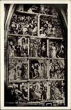 Obermauern Virgen Österreich Tirol AK ~1940 Fresken Wandgemälde Kirche Kapelle