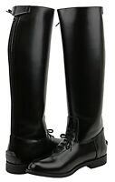 Fammz MB-2 Mens Man Motorcycle Riding Police Leather Tall Knee High Boots