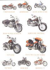 HARLEY DAVIDSON MOTORCYCLE GREETINGS CARD BIRTHDAY CHRISTMAS FATBOY FATBOB VROD