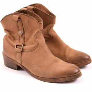 Tommy Hilfiger Damen Stiefeletten Boots Schuhe Shoes Gr.39 Baxter 4 Leder 101001