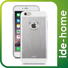 "Moshi iGlaze Armour Metallic Case for iPhone 6 Plus/ 6S Plus (5.5"") - Jet Silver"