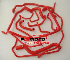 Rojo silicona manguera Refrigerante Tubo Renault Super 5 R5 GT Turbo Phase 2