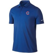 Nike Golf Dri-Fit Chicago Cubs MLB Embroidered Mens Polo XS-6XL, LT-4XLT New
