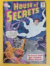 """HOUSE OF SECRETS #59 -  MARK MERLIN """"The DEMON SPIRIT!"""" - 1963"""