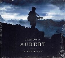 2 CD + DVD - JEAN LOUIS AUBERT - Live = Vivant