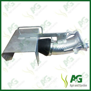 """Italian Female 6"""" Slurry Tanker Fitting With Large Plate"""