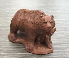 More details for hand crafted wetherbee 494 grizzly bear & cub 1997 red mill mfg made usa