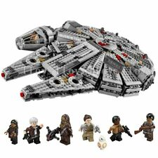 Building Blocks Compatible Legoinglys Star War Millennium Falcon Toys 1381 Pcs