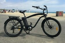 Beach Cruiser Electric Bike - 500 watt 48 volt 13 amp E-bike - Step Over Frame