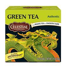 Te Verde (2 Cajas) 80 Bolsitas Excelente fuente de Vitamina C. Te Celestial.