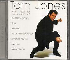 CD COMPIL 20 TITRES--TOM JONES--DUETS / TURNER-ANKA/BERENSON/HAYES/WARWICK...