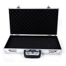 New Aluminum Framed Locking Gun Carry Case H 00004000 andgun Pistol Hard Lock Box Storage