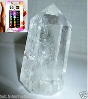 Jet Genuine Quartz Crystal Obelisk Free Booklet Jet International Crystal