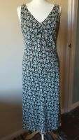 Monsoon Dress  Size 12 Green Floral