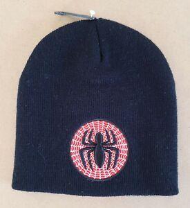 Marvel The Amazing Spider-Man – Spider-Man Kids/Boys Beanie Hat Size 4-6 New