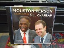 Houston Person w/ Bill Charlap You Taught My CD 2006 Highnote Records VG+ Jazz