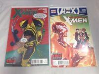 Wolverine & The X-Men #17 & #18 Marvel Comics 2012 VF/NM Avengers Vs. X-Men