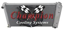 "4 Row Perf Radiator 26"" Core W/ 16"" Fan for 1970 - 1981 Chevrolet Camaro"