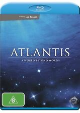 Atlantis - World Beyond Words (Blu-ray,2010)  Doco Film by Luc Besson NEW SEALED