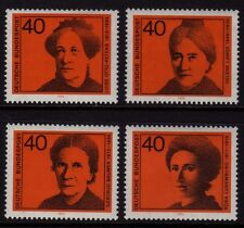 W Germany 1974 Women in German Politics SG 1683/6 MNH