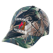 Cap Hat Camo Redbone Treeing Coon Hound Coonhound Dog Hunter