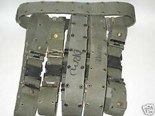 US ARMY MARINES SURPLUS UTILITY BELTS IN MEDIUM ALICE LOT OF 6