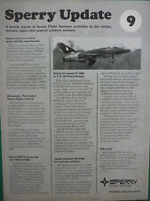 1/1980 PUB SPERRY FLIGHT SYSTEMS UPDATE 9 F-100 QF-100 SPACE SHUTTLE AIRBUS AD