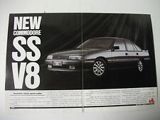 HOLDEN VN COMMODORE SS 2 PAGE COLOUR MAGAZINE ADVERTISEMENT