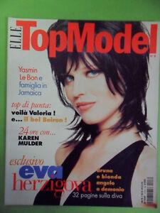 ELLE TOPMODEL N° 8. 1996. EVA HERZIGOVA
