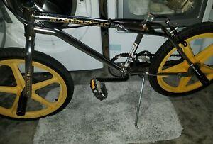 "VINTAGE OLD SCHOOL BMX HUFFY Street Stock II Matador Rare 20"" FRAME SET - CHROME"