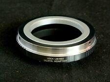 Brass M39 L39 LTM Leica Screw Mount Lens to Sony NEX E Mount Adapter L39-NEX-C