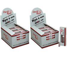 480 Microbocchini David Ross Ryo 6 mm per Sigaretta 48 astucci 2 Box