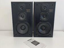 Technics SB-CS7 3 Way Loudspeaker System Pair of Speakers  120 Watt