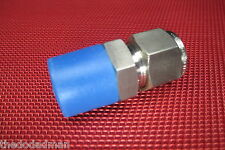 Brennan® 1/2 Tube OD x 1/2 NPT Male Pipe STRAIGHT CONNECTOR 316 Stainless Steel